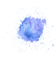 watercolor splash vector image