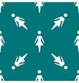 woman restroom web icon flat design Seamless vector image