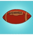 ball for rugor american football vector image vector image
