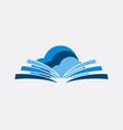education logo image vector image vector image