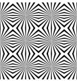 geometric illusions background vector image vector image