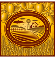 Retro farm vector image vector image