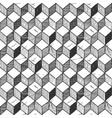 rhombille seamlessly tiling vector image