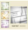 Set of abstract line background EPS10 vector image