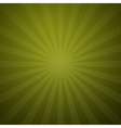 Abstract Retro Green Background vector image vector image
