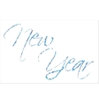 backgrond New Year vector image vector image