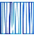 background of blue vertical stripes vector image vector image