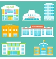 City Buildings Set vector image vector image