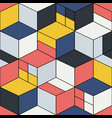 creative seamless geometric pattern - repeatable vector image