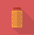 grater icon set of great flat icons with style vector image