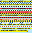 Caution Tape Collection