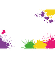 Background with blotches vector image