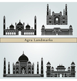 Agra landmarks and monuments