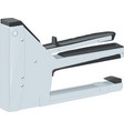 construction stapler isolated vector image