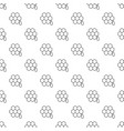honeycomb pattern seamless vector image