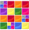 multicolor tiles texture seamless vector image vector image