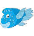 napoleon-fish vector image vector image