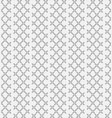 seamless pattern with geometric shapes and symbol vector image vector image