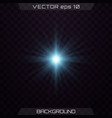 set light effects vector image vector image