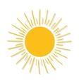 Sun burst light vector image vector image