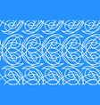 seamless water pattern vector image
