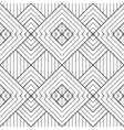 abstract seamless linear geometric striped vector image vector image