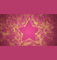 abstract triangle star vector image