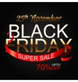 Black Friday 2 vector image vector image