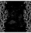 Chalkboard border vector image vector image