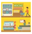 Grocery Shop Two vector image