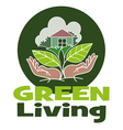 Living Green vector image vector image