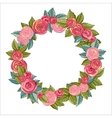 Rose Wreath vector image vector image