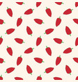 seamless pattern with red patchwork pepper vector image vector image