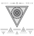 Set of geometric hipster shapes 9znl72211 vector image vector image