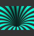 spiral optical template spiral twisted vortex vector image vector image