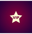 vip icon concept for design vector image vector image