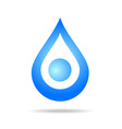 water clear element vector image
