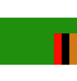 zambia vector image vector image