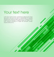 abstract oblique rectangle background in green vector image vector image
