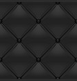 Black button-tufted leather background