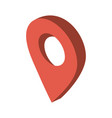 gps location pin icon image vector image vector image