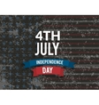 Happy 4th of July Independence Day Creative vector image vector image