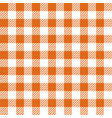 orange lumberjack seamless pattern vector image vector image