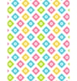 Seamless bright abstract pattern with flowers vector image vector image
