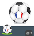 soccer euro france vector image vector image