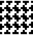 Squares seamless pattern zigzag ornament 1 vector image