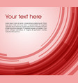 abstract circle rectangle background in red color vector image vector image