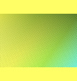bright green with yellow dotted halftone faded vector image