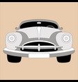 classic car lining draw vector image vector image