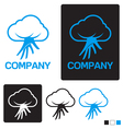 Cloud service logo template vector | Price: 1 Credit (USD $1)
